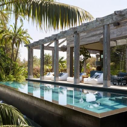 Inside A Balinese Inspired Home In Malibu, California